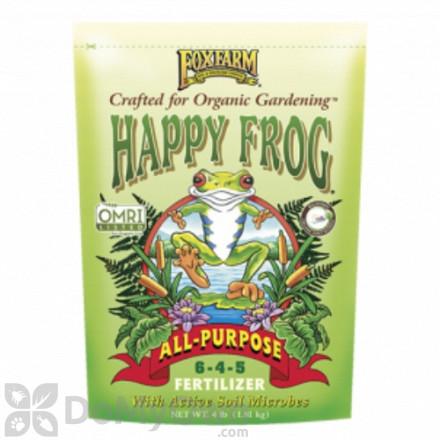 FoxFarm Happy Frog All Purpose Fertilizer 6 - 4 - 5