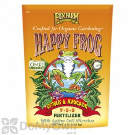 FoxFarm Happy Frog Citrus and Avocado Fertilizer 7 - 3 - 3