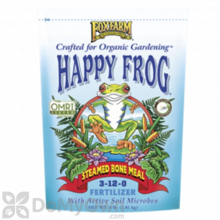 FoxFarm Happy Frog Steamed Bone Meal Fertilizer 3 - 12 - 0