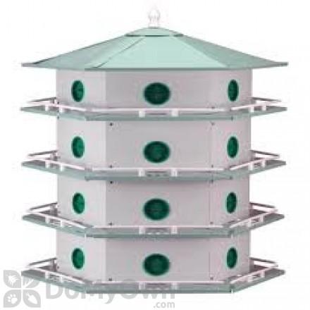 Heath Aluminum 24 Rooms Bird House (AH24D)