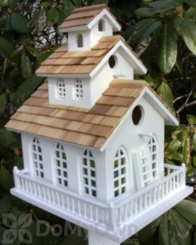 Home Bazaar Chapel Bell Bird House (HB2047)