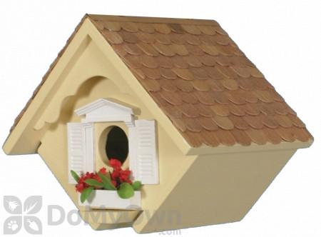 Home Bazaar Yellow Little Wren Bird House (HB2044Y)