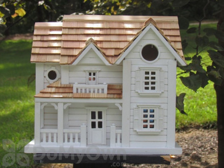 Home Bazaar Kingsgate Cottage Bird House (HB2041)