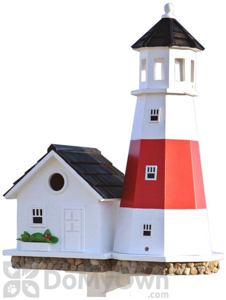 Bazaar Montauk Point Lighthouse Bird house 19.5 in. (HB9084)