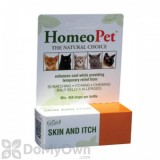 HomeoPet Feline Skin and Itch Relief Supplement