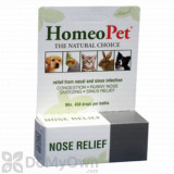 HomeoPet Nose Relief Pet Supplement
