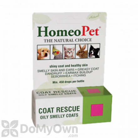 HomeoPet Coat Rescue Pet Supplement