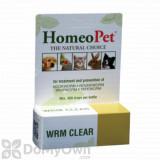 HomeoPet WRM Clear Pet Supplement