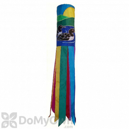 In The Breeze Pair of Loons Windsock Hanging Decor (ITB4620)