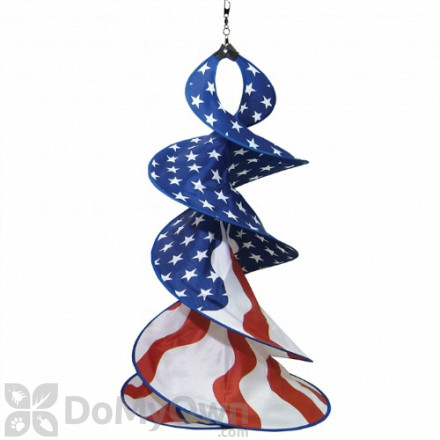 In The Breeze Patriotic Spin Duet Hanging Decor (ITB4747)