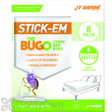 JT Eaton Stick-Em The Bugo Bed Bug Detector Trap for Carpeted Floors
