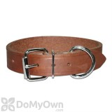 Leather Brothers Regular Bully Leather Dog Collar 1 in. x 19 in.