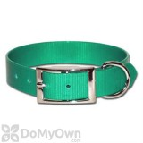 Leather Brothers Regular SunGlo Collars 1 in. x 19 in. - Green
