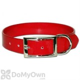 Leather Brothers Regular SunGlo Collar 1 in. x 17 in. - Red