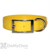 Leather Brothers Regular SunGlo Collar 1 in. x 17 in. - Yellow
