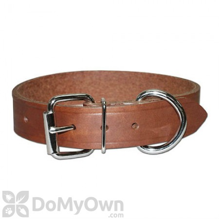 Leather Brothers Regular Bully Leather Dog Collar