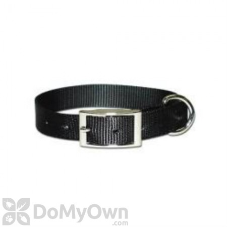 Leather Brothers Regular One - Ply Nylon Collar 5/8 in. x 14 in.