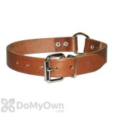 Leather Brothers Ring - in - Center Leather Collar 1 in. x 19 in.