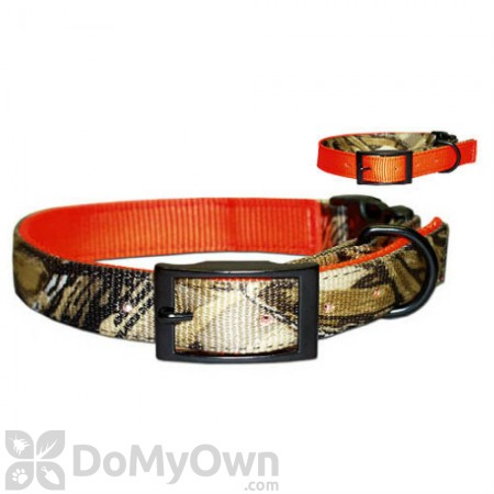 Leather Brothers Reversible Advantage Wetlands Camo Collar