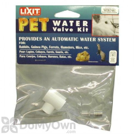 Lixit Pet Water Valve Kit