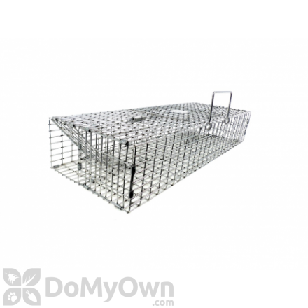 M35H Double Door Extra Large Multiple Catch Live Trap for Small Rodent Sized Animals