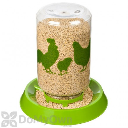 Manna Pro Reversible Chicken Waterer and Feeder