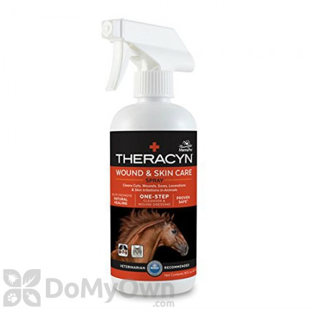 Manna Pro Theracyn Wound and Skin Care Spray for Horses