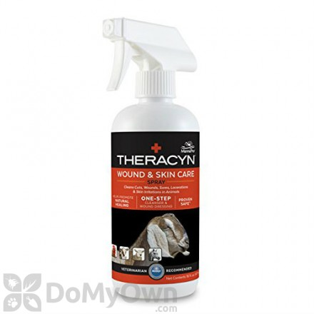 Manna Pro Theracyn Wound and Skin Care Spray for Livestock