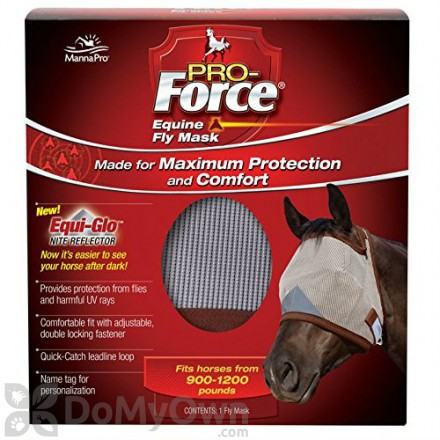 Manna Pro Pro - Force Equine Fly Mask