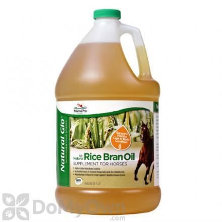 Manna Pro Natural Glo Rice Bran Oil Supplement