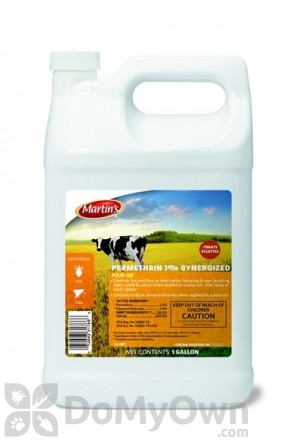 Martins Permethrin 1% Synergized Pour On