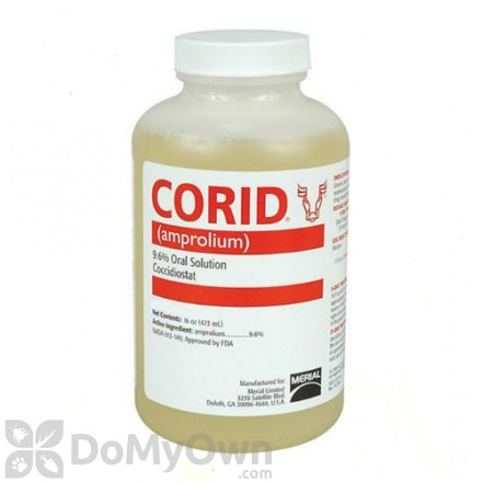 Merial Corid 9.6% Oral Solution for Cattle