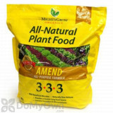 MightyGrow All - Natural Plant Food Amend All - Purpose Formula 3 - 3 - 3
