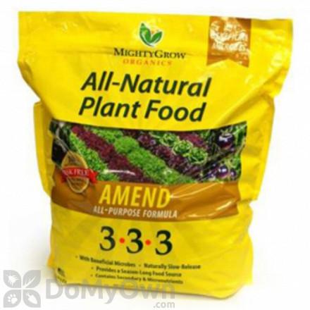 MightyGrow All - Natural Plant Food Amend All - Purpose Formula 3 - 3 - 3