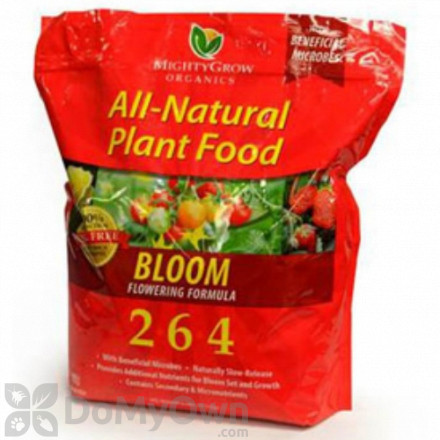 MightyGrow All - Natural Plant Food Bloom Flowering Formula 2 - 6 - 4
