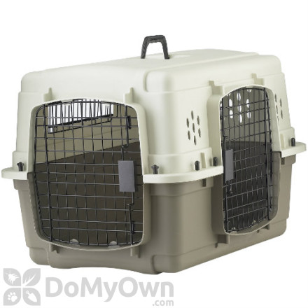 Pet Lodge Double Door Plastic Crate