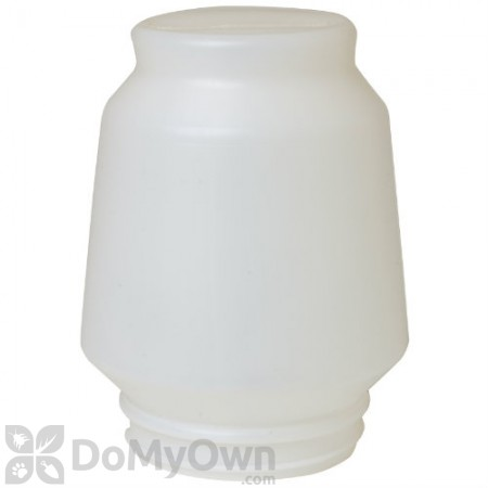 Little Giant Plastic Screw-On Poultry Waterer Jar 1 gal.