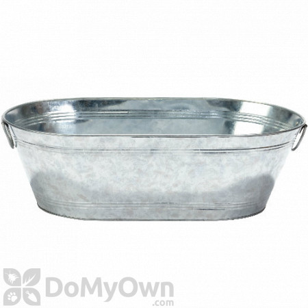 Little Giant Galvanized Oval Tub 10.5 gal.