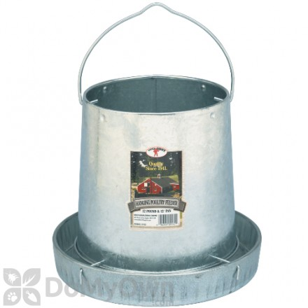 Little Giant Hanging Metal Poultry Feeder