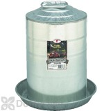 Little Giant Double Wall Metal Poultry Fount 3 Gal.