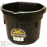 Little Giant Duraflex Flat Back Rubber Bucket 12 qt.