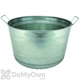 Little Giant  Galvanized Bushel Tub 8 Gal.