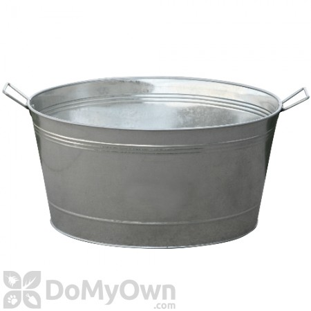 Little Giant Galvanized Round Tub 13.75 gal.