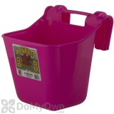 Little Giant Plastic Hook Over Feeder 12 qt. Hot Pink
