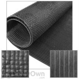 Little Giant Pre-Cut Rubber Utility Mat 96 in. x 48 in.