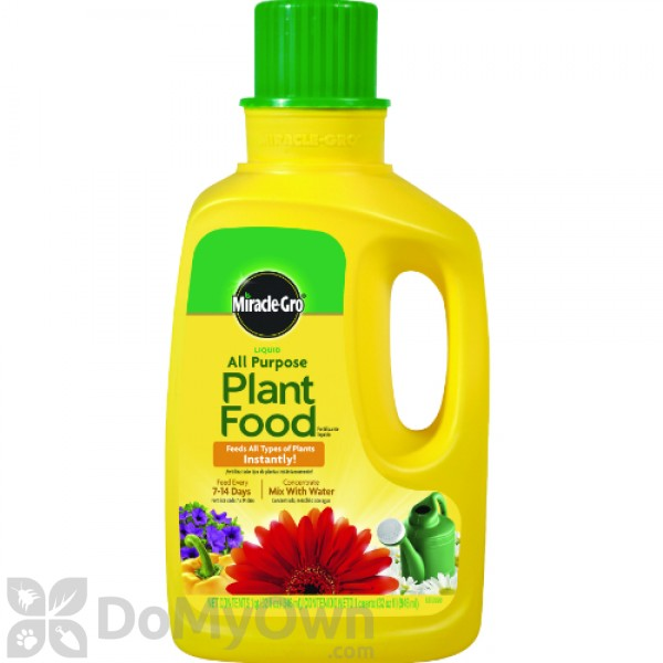Miracle Gro Liquid All Purpose Plant Food Concentrate