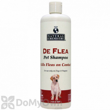Natural Chemistry DeFlea Pet Shampoo for Dogs
