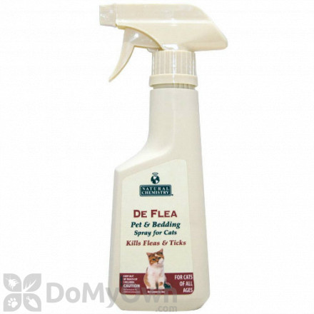 Natural Chemistry DeFlea Pet and Bedding Spray for Cats