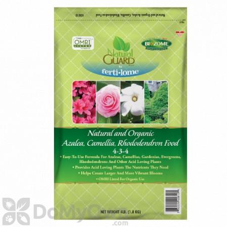 Ferti-lome Natural Guard Natural and Organic Azalea Camellia Rhododendron Food 4 - 3 - 4