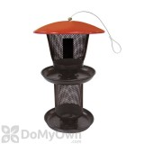 No / No Feeder Red and Black Mixed Multi Tiered Bird Feeder 4 lb. (RBMS00341)